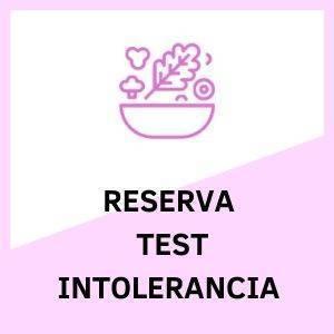 Test Intolerancia Reservar