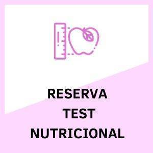 Test Nutricional Reservar
